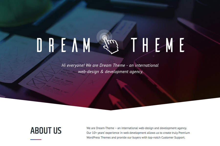 The7: Software Company – Just another The7 – Ultimate WordPress